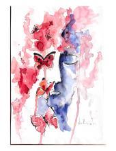 """Ilustração de Ana Maria Costa: """"Doce Resiliência"""""""